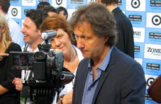 ©WG Film - Director Fredrik Gertten and producer Margarete Jangård at the Los Angeles Film Festival