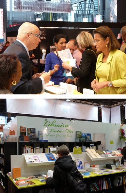 Salon du livre de Paris 2012