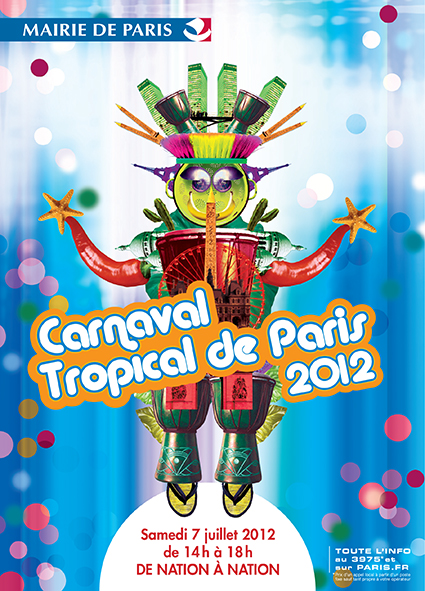 Carnaval tropical Paris 2012