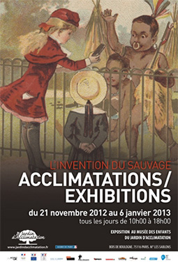 "Expo, ""L'invention du sauvage - Acclimatations/Exhibitions"""