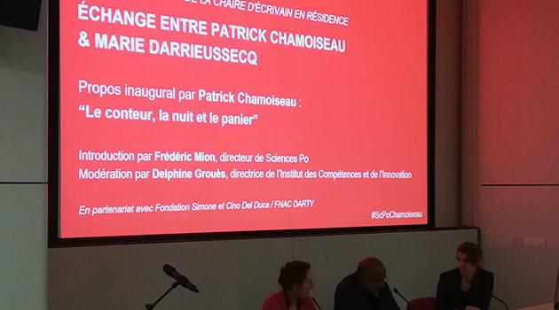 Patrick Chamoiseau à Sciences Po